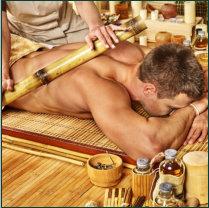Bambusmassage