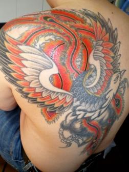 鳳凰、火の鳥のイメージ