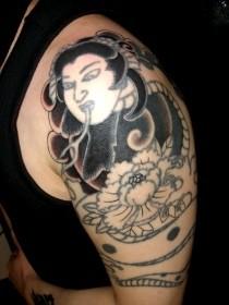 清姫 刺青