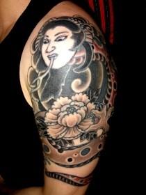 タトゥー 刺青リメイクの画像