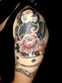 清姫 刺青の画像