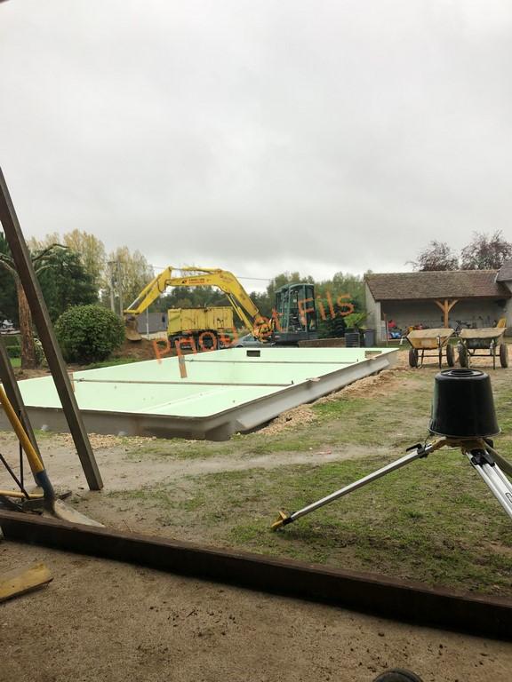 installation piscine coque Loir et Cher 41 Contres Blois Romorantin Montrichard