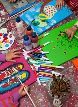 Malkurse für Kinder und Jugendliche