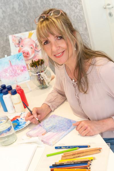 Claudia Groß Kunstkurse Kunsttherapie Bad Segeberg