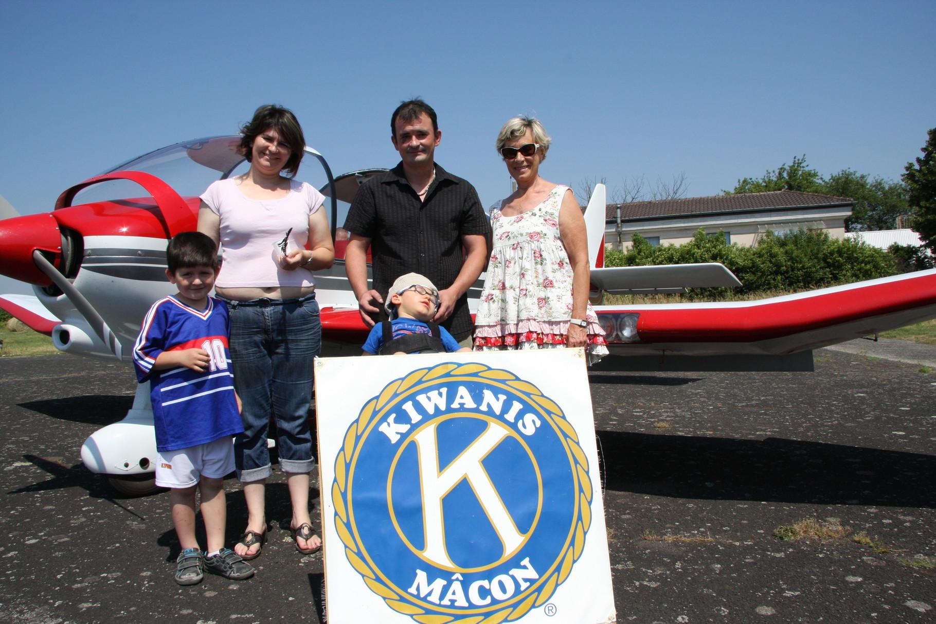 Avec le Kiwanis de Mâcon