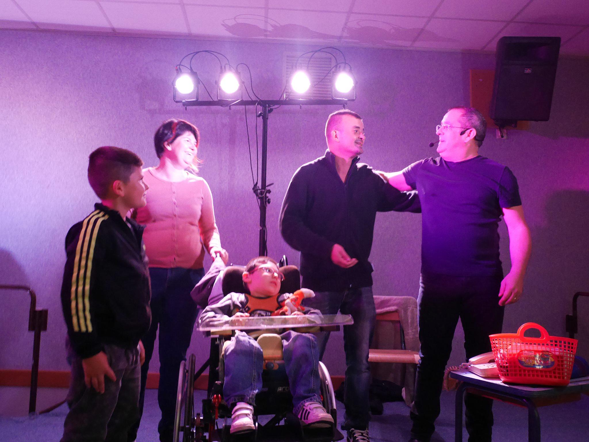 Nolan, Didier et toute la famille