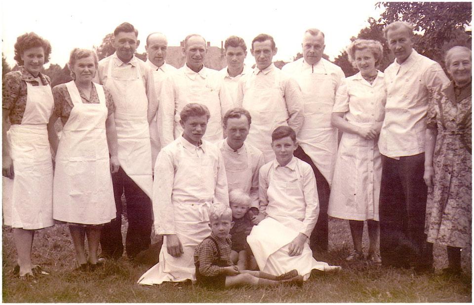 Belegschaft im Jahre 1952
