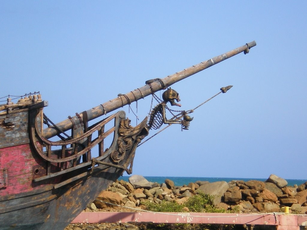Piratenschiff in Puerto del Rey
