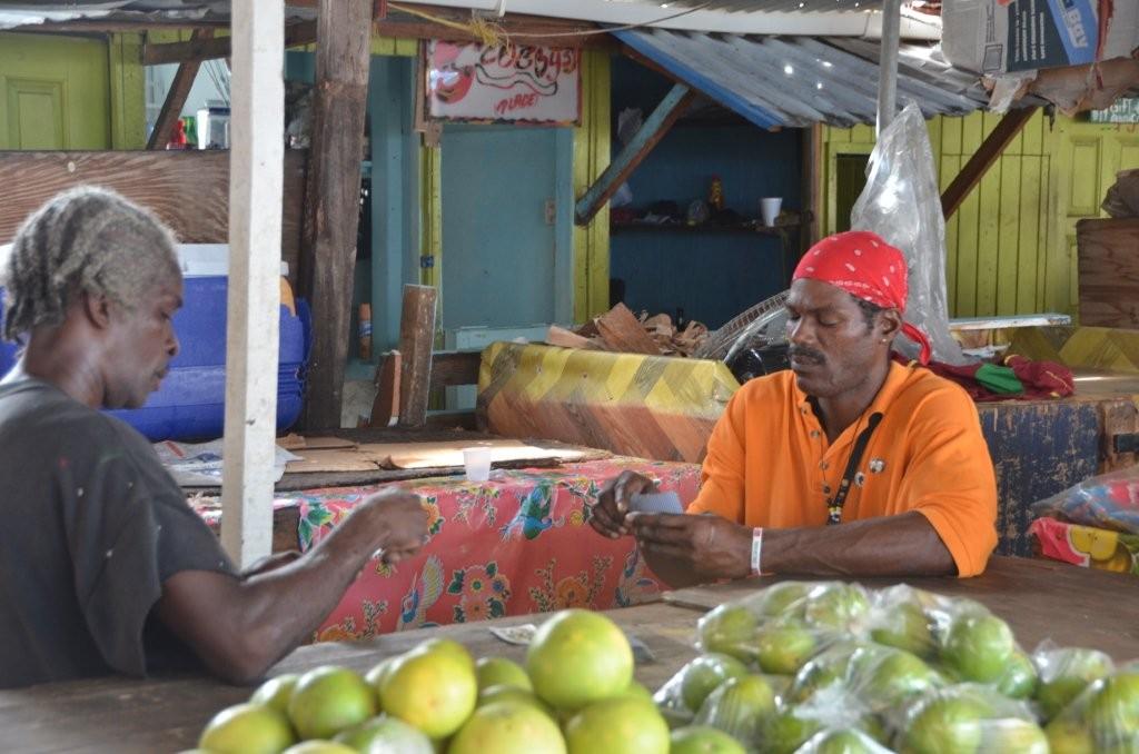 Markt in St. Goerge's /Grenadas Hauptstadt