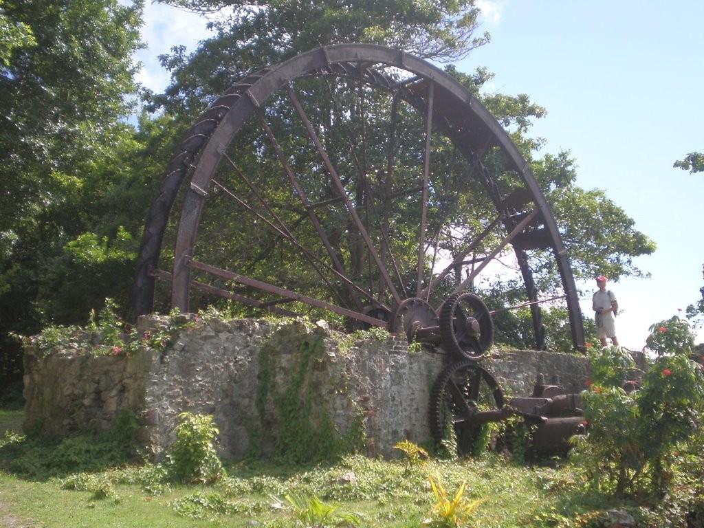 Wasserrad in Speyside