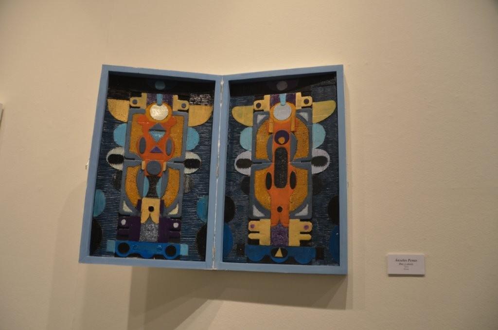 Kunstausstellung im Rathaus - Kunst aus der Box