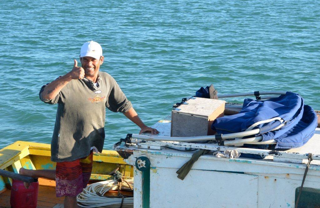 Langustenfischer / Enseada Guarapari