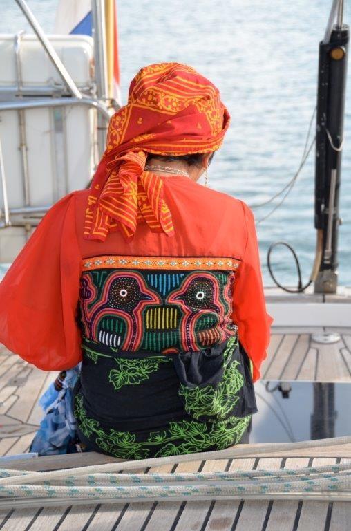 ... Efrosina an Bord