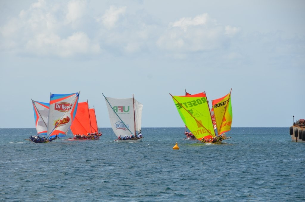 Segelregatta vor Fort de France