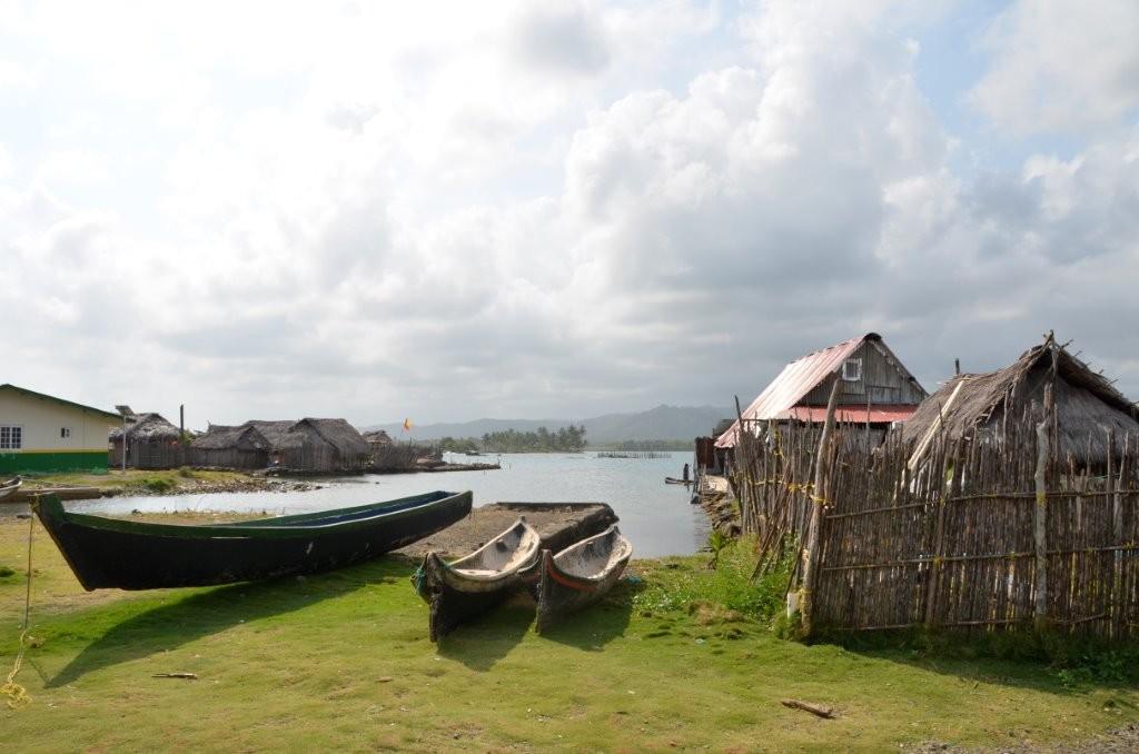 Kuna-Dorf Achutupu