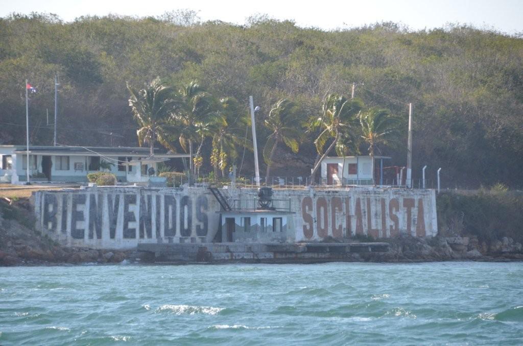 Einfahrt nach Cienfuegos