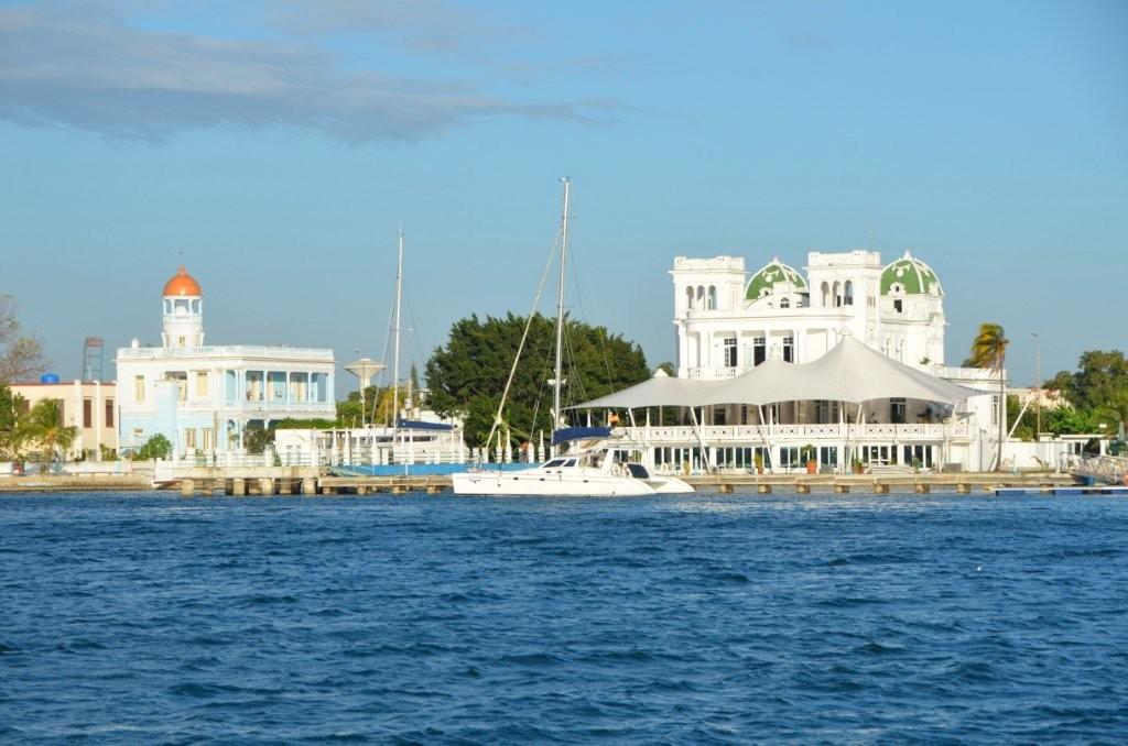 der alte Yachthafen von Cienfuegos