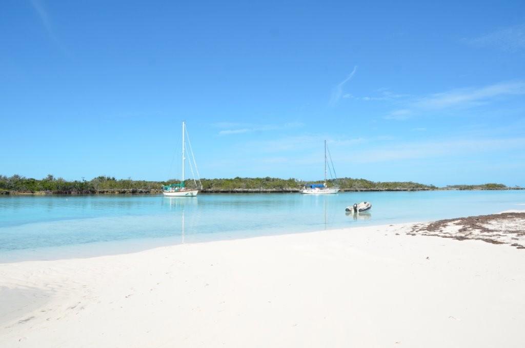 der unglaublich weisse Sand von Sand Cay,