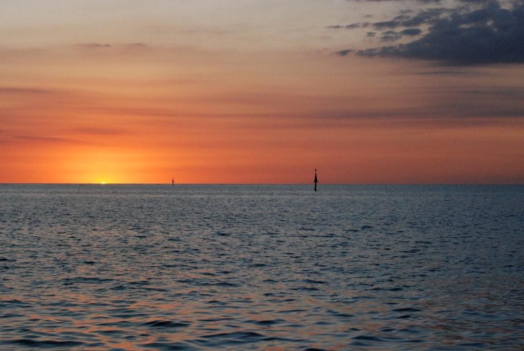 Sonnenuntergang am Cabo Cruz
