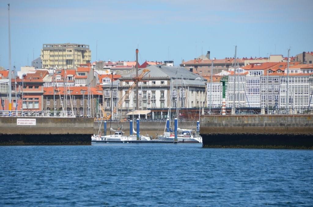 Hafeneinfahrt La Coruna