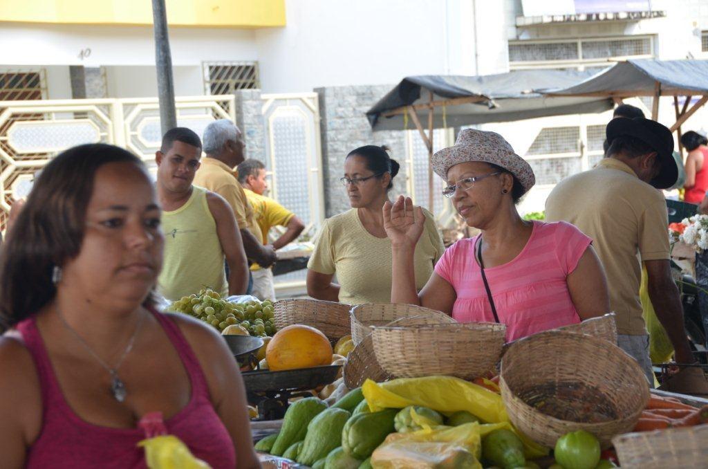 Markt in  Maragogipe