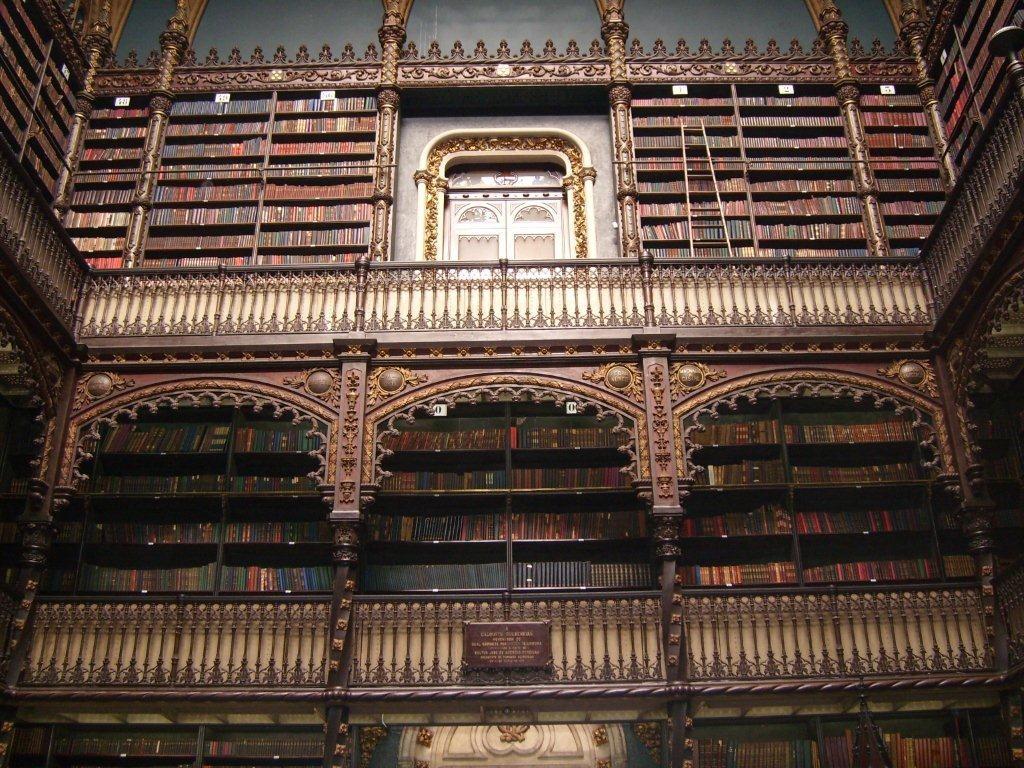 die alte Bibliothek
