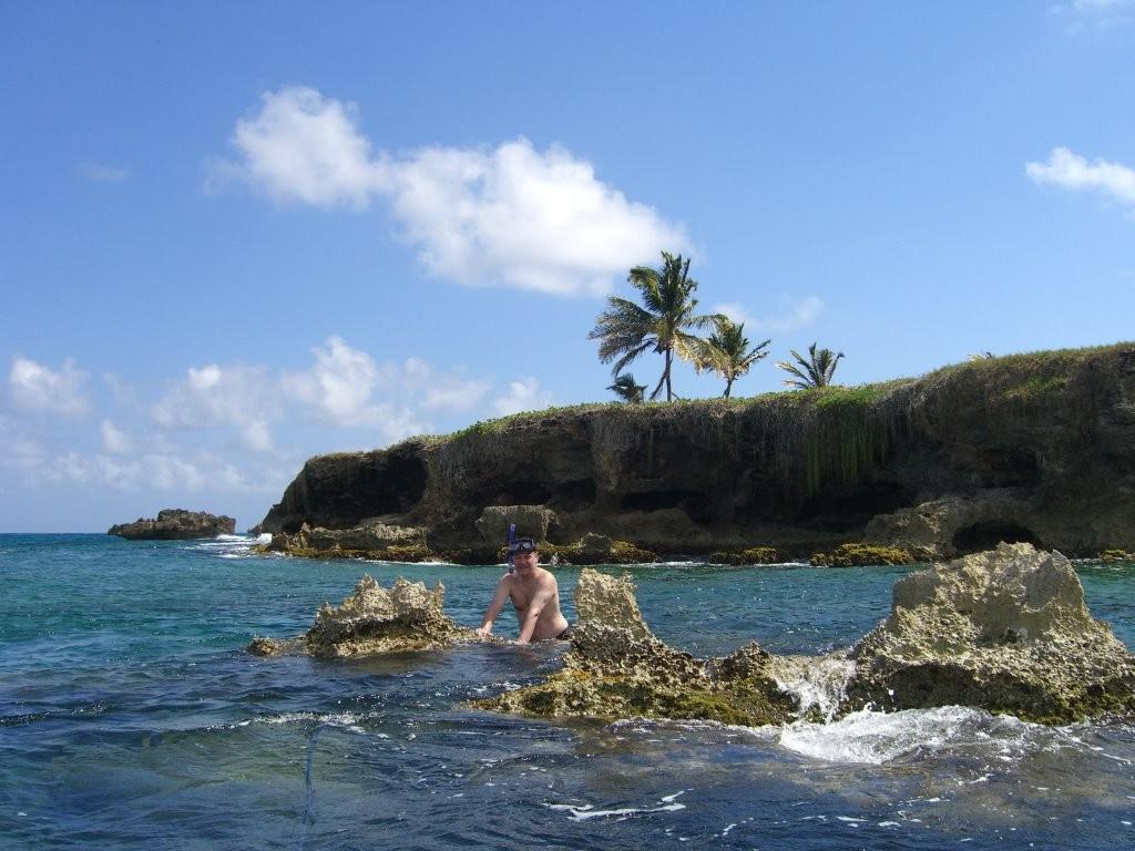 Schnorcheln an der Insel Vieux Fort, Marie Galante