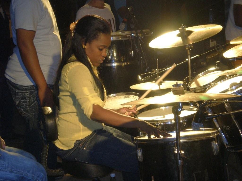 Yuly beim Konzert in Matanzas