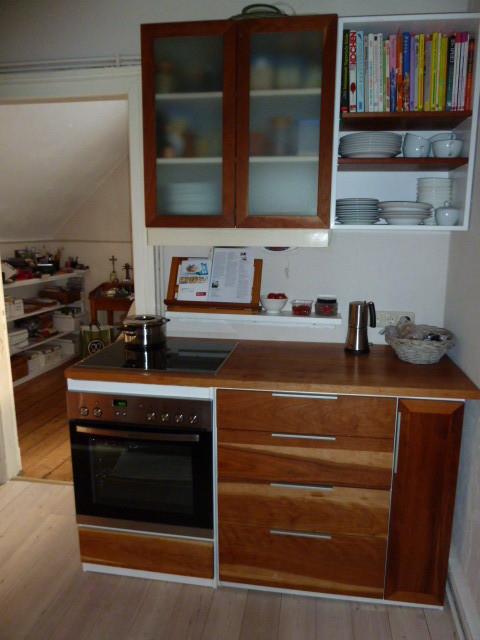 Küchenblock in Kirschholz, Oberfläche geölt