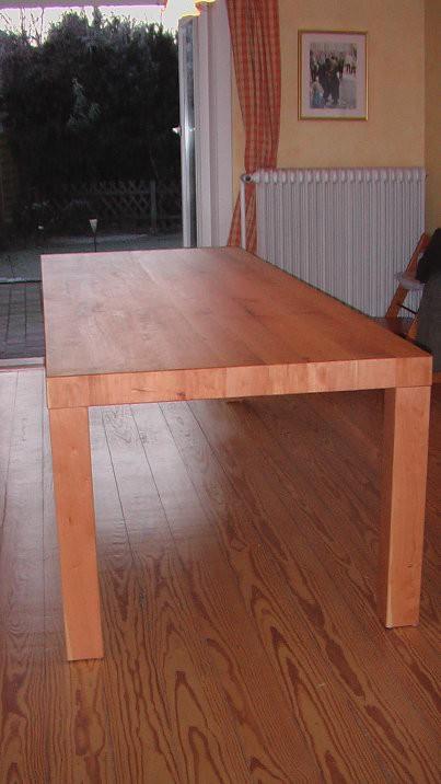 Esszimmertisch aus Kirschholz geölt , 2,60m x 1,00m
