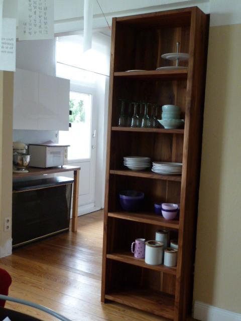 Küchenregal aus Rüster