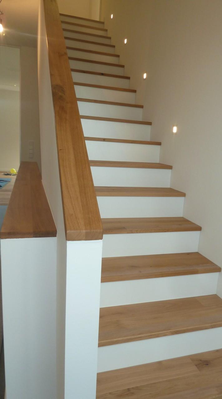Treppenstufen aus Eichenholz