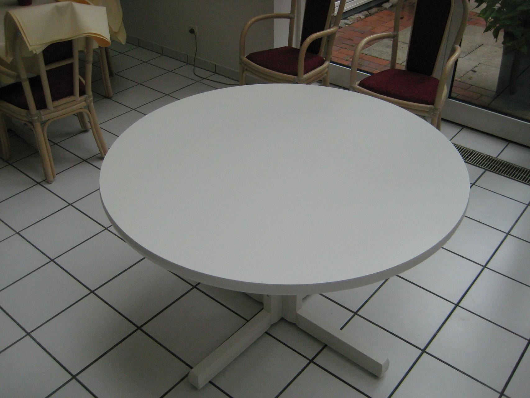 runder Eßtisch , Durchmesser 1,20m