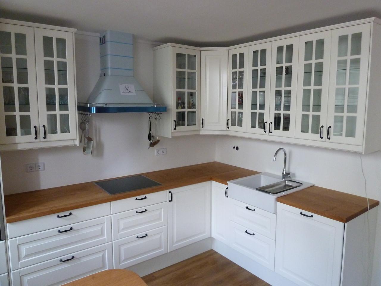 Tresen und Küchenarbeitsplatten aus Eichenholz, naturgeölt