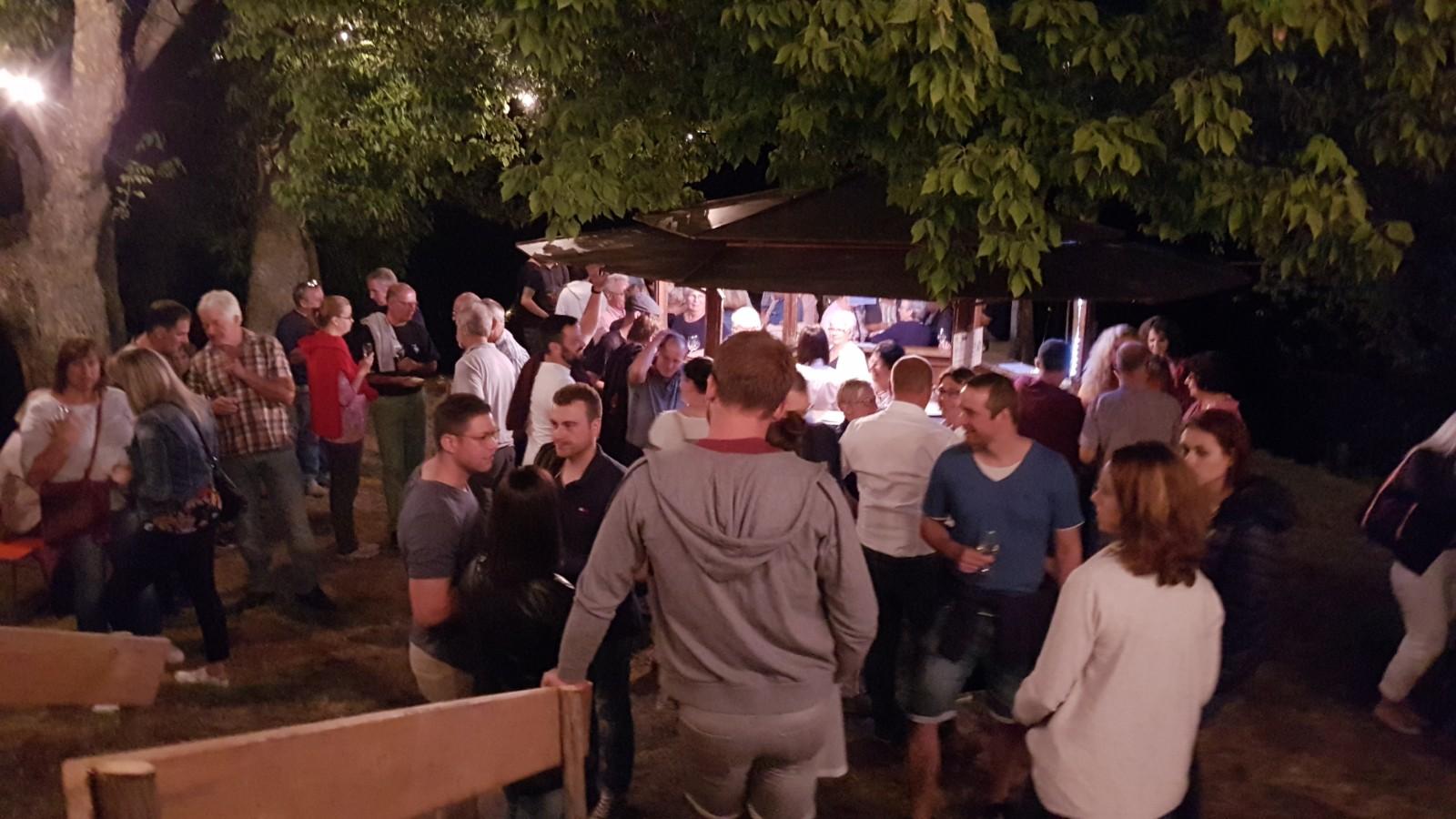 Weinfest Hungerberg 2019 Köndringen Impressionen 12