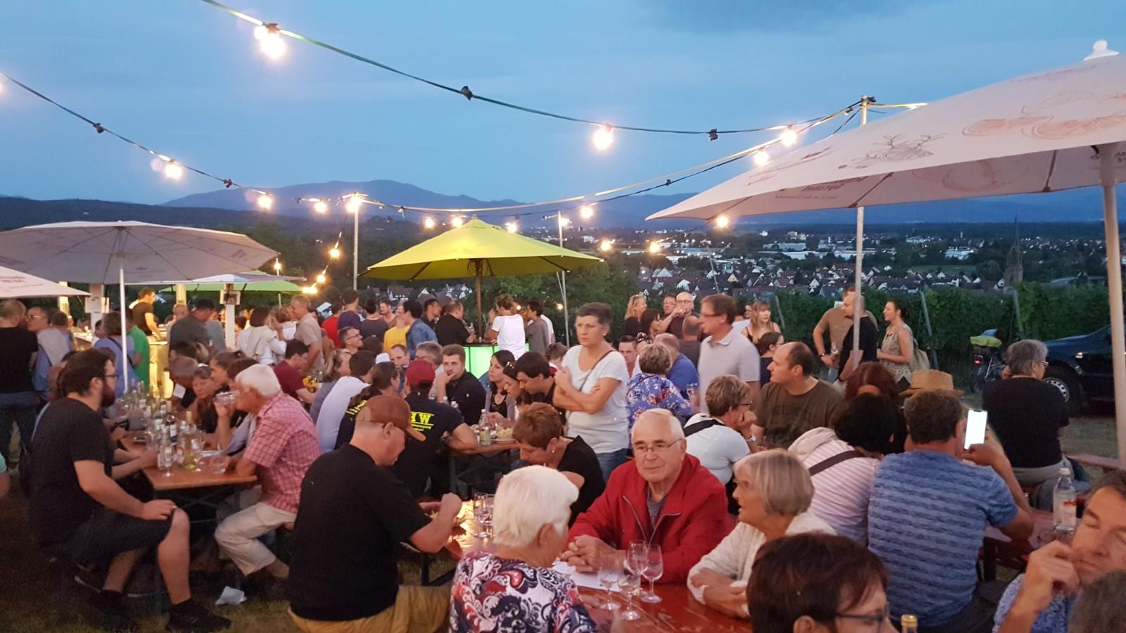 Weinfest Hungerberg 2019 Köndringen Impressionen 2