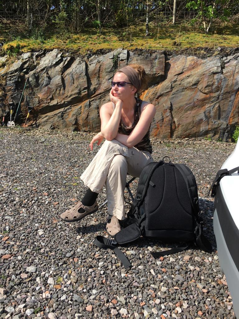 Clachan Seil, Schottland – Warten (nicht) auf Godot – sondern auf Captain David