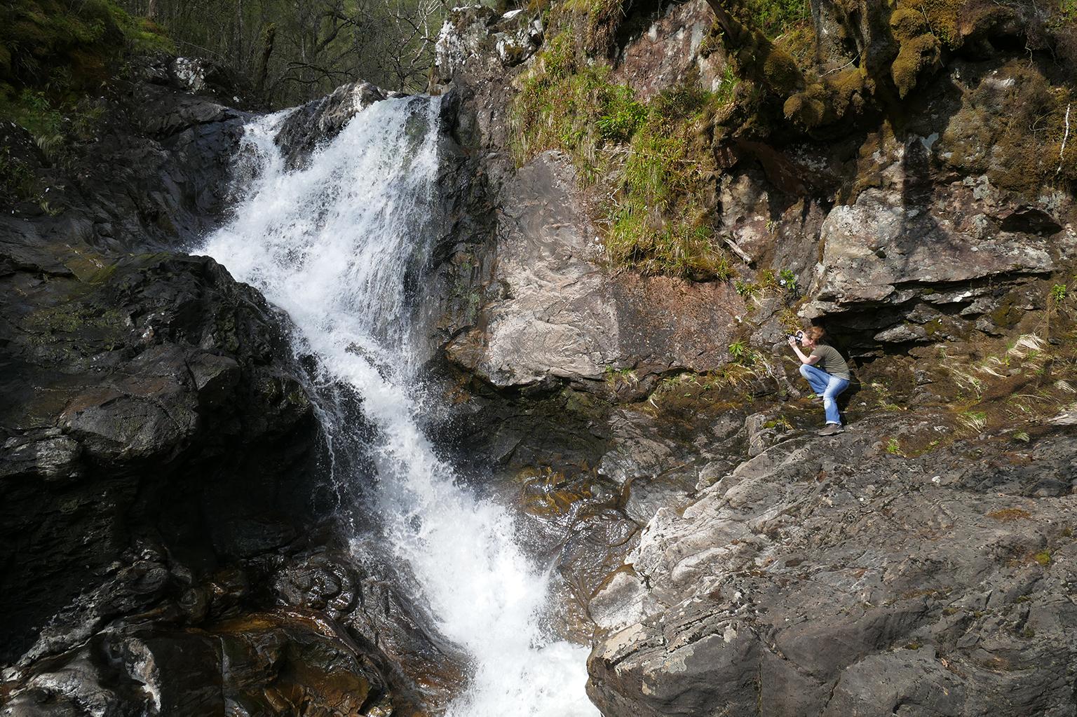 Chia Waterfall, Schottland – Kein Weg zu weit, kein Berg zu hoch, kein Pfad zu steil …