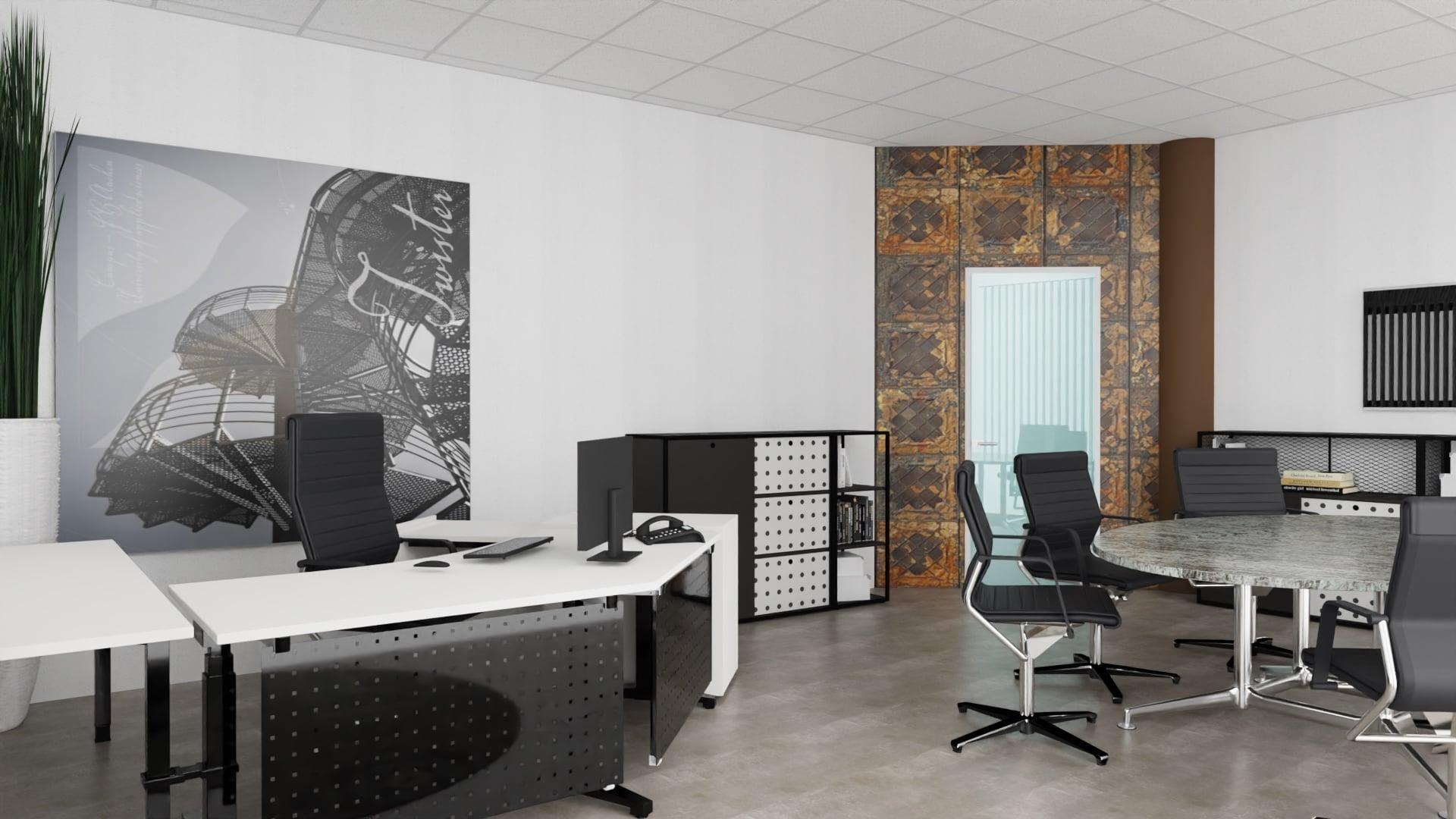 """Twister"" Neue Büroräume © ABS Anke Brand Steuerberatungsgesellschaft mbH & Eva Lenzenhuber"