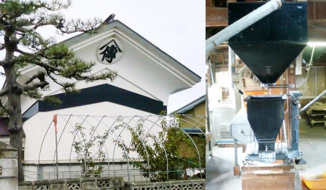 山田家伝承の技あり。 わたしは当家「山傳」(ヤマデン)の6代目で、先祖代々から引き継いだ伝統の技もその秘訣。十勝沖地震にも耐えた土蔵で籾を夏冬16度で安定的に保管しています。