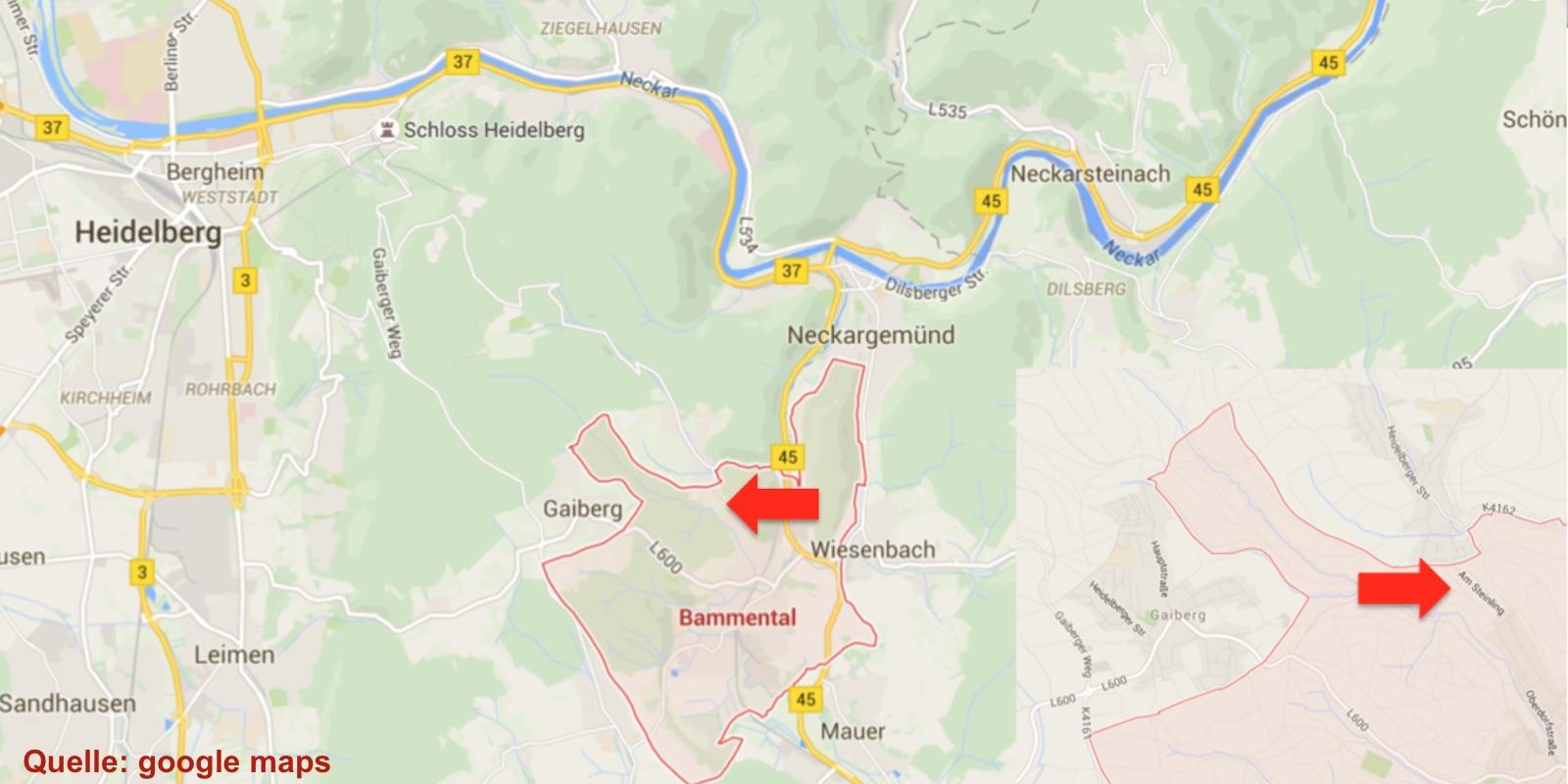 wunderbare Lage - nahe bei Heidelberg