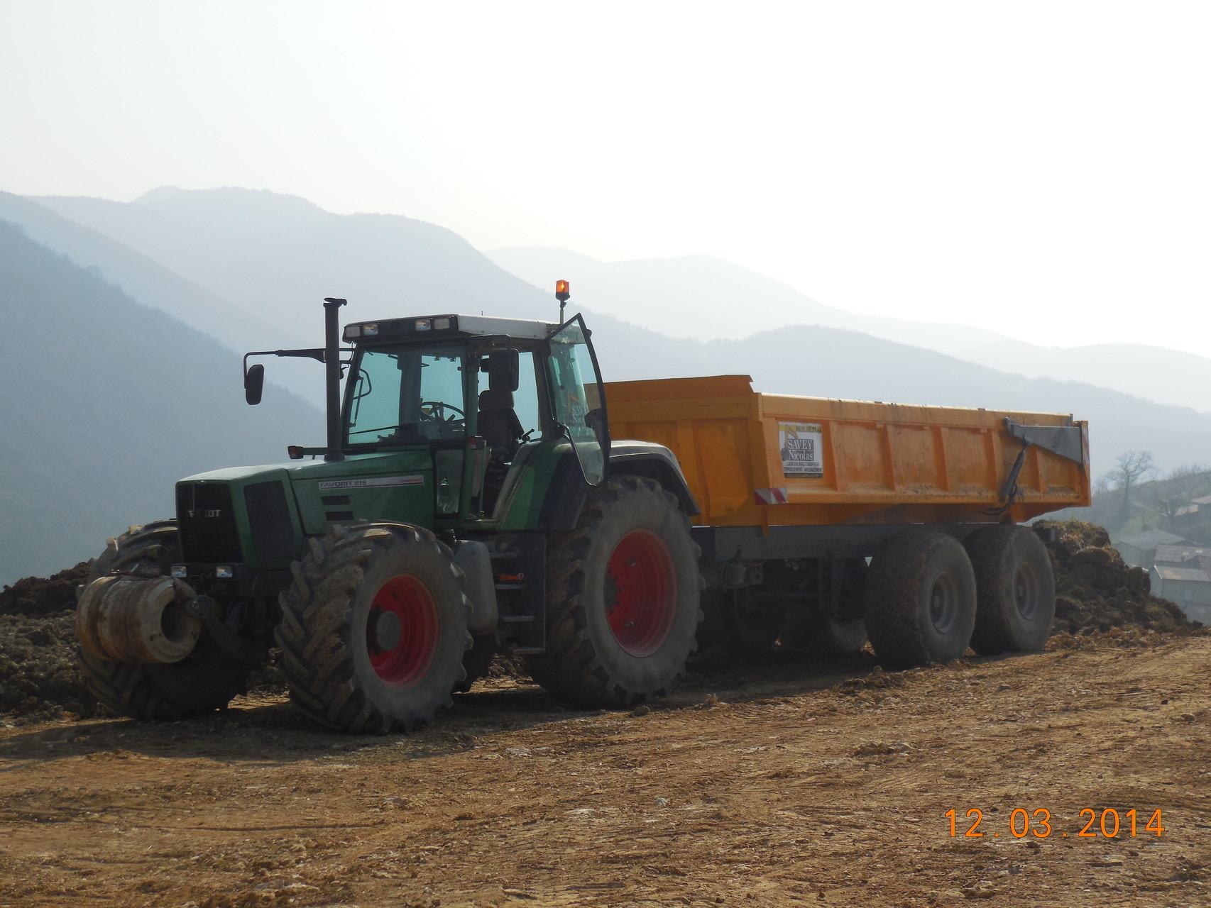 Tracteur-benne Tp