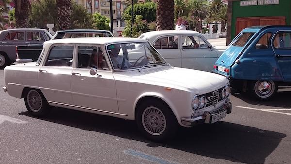 Alfa Romeo Guilia, 1962 - 1978, 1973