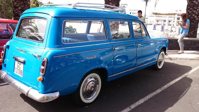 Peugeot 403 Break, 1958