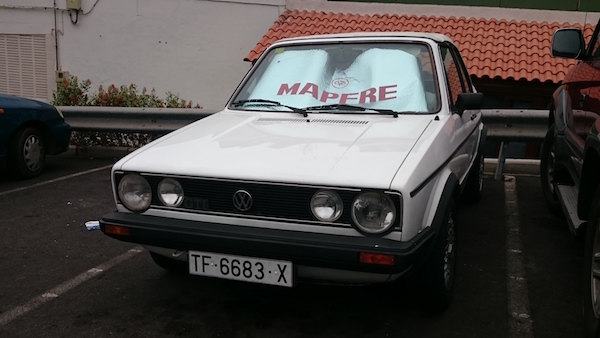 VW Golf Cabrio, 1986