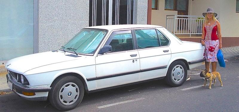 BMW 520i, 1987