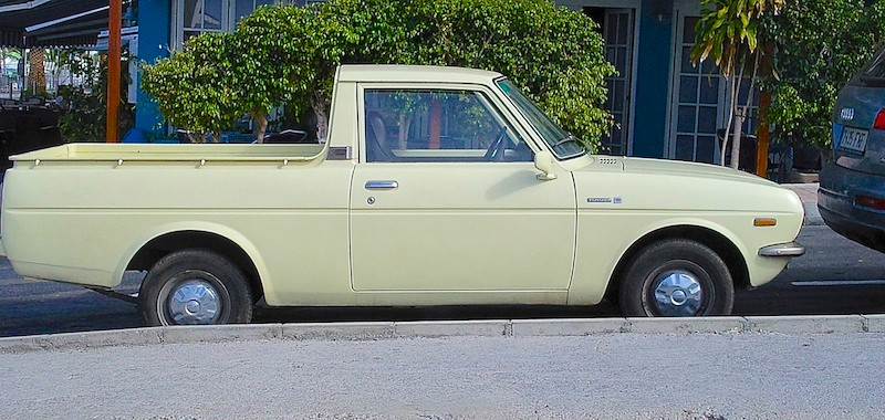 Toyota 1000 Pick-up, 1976