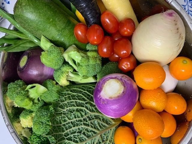 美味しい野菜が届きます。