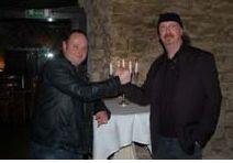 29.02 2012 Stephan Prinz+Tott Di nach dem Vertragsabschluß bei ZeitART Records