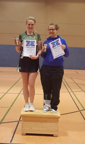 Siegerfoto Stadtmeister 2018 Damendoppel C